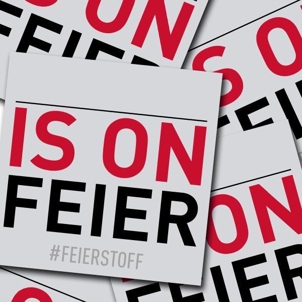 Feierstoff - Sticker Pack - IS ON FEIER